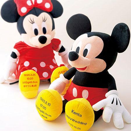 【ディズニー】ウェイトドール「ミッキーマウス」  両親へのプレゼント