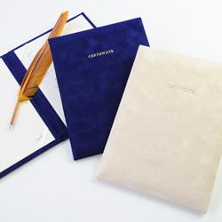 Marriage certificate VELOCE / correspondence / wedding