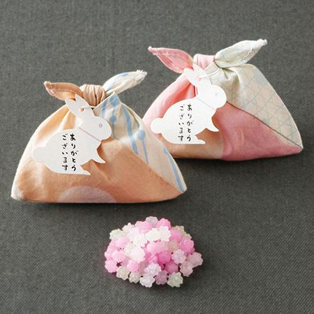 【プチギフト 50個入(50名様分)】あづま袋(こんぺいとう)