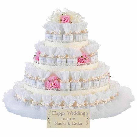 レースデコレーション ピンク 72個セット /結婚式プチギフト ※メーカー直送品のため代引・同梱不可※