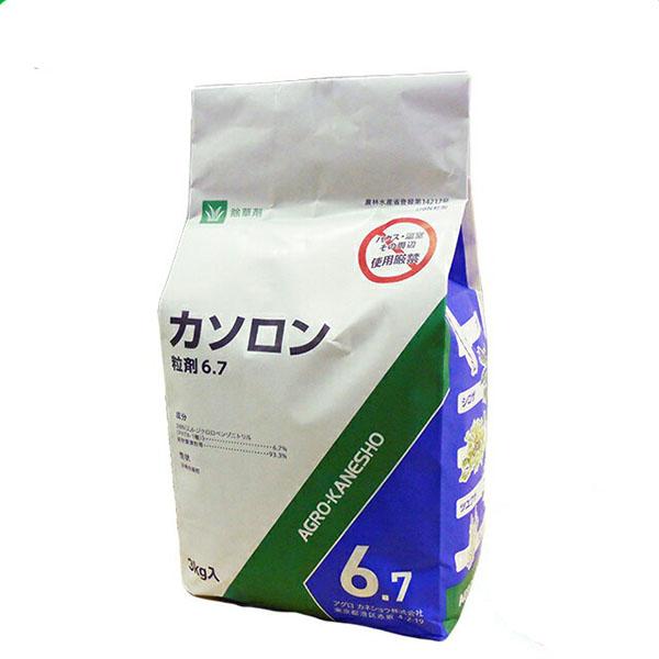 除草剤 カソロン粒剤6.7% 3kg×8袋セット