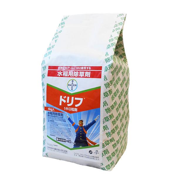水稲用除草剤 ドリフ1キロ粒剤 4kg×4袋セット