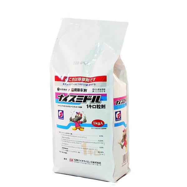 水稲用除草剤 ナイスミドル1キロ粒剤 1kg×12袋セット