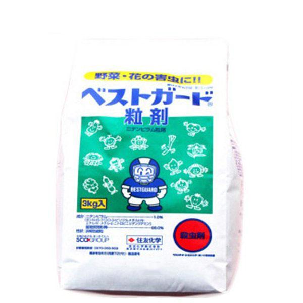 殺虫剤 ベストガード粒剤 3kg×6袋セット