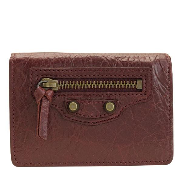 バレンシアガ BALENCIAGA ショップ袋付き 三つ折り財布 ミニ アウトレット 477455d940t6115 | サイフ 財布 コンパクト レディース かわいい 可愛い 小銭入れ カード入れ 使いやすい おしゃれ オシャレ ブランド