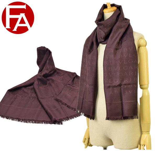 ブルガリ BVLGARI ストール スカーフ アウトレット 242053 | マフラー おしゃれ オシャレ ブランド シルク 令和 記念