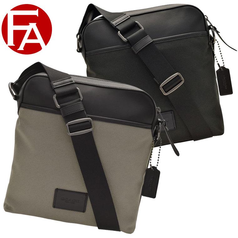 コーチ COACH 斜めがけショルダーバッグ メンズ アウトレット f37609 | バッグ バック かばん 鞄 通勤 肩掛け 斜め掛け かっこいい おしゃれ オシャレ ブランド 本革 令和 記念