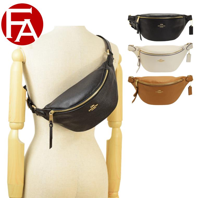コーチ COACH ウエストバッグ ウエストポーチ ボディバッグ アウトレット f48738 | バッグ バック かばん 鞄 肩掛け 斜め掛け 斜めがけ コンパクト おしゃれ オシャレ ブランド