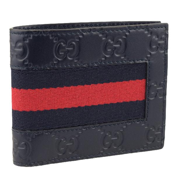 GUCCI グッチ ストアー 財布 メンズ 推奨 新品 二つ折り財布 アウトレット 札入れ 408827cwcln8497-zz