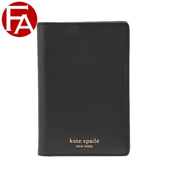 ケイトスペード KATE SPADE パスポートケース カードケース pwru7244-001 | 出張 便利 通勤 定期入れ カード入れ ICカード ケース かわいい 可愛い おしゃれ オシャレ ブランド 本革