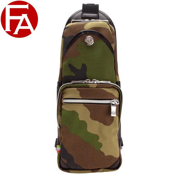 オロビアンコ バッグ OROBIANCO BAG メンズ ボディーバッグ スリングバッグ カモフラージュ ナイロン×レザー giacomio13-h-camo ビジネス | ショルダー バッグ かばん 鞄 迷彩柄ワンショルダー バッグ 斜めがけ 肩掛け ブランド