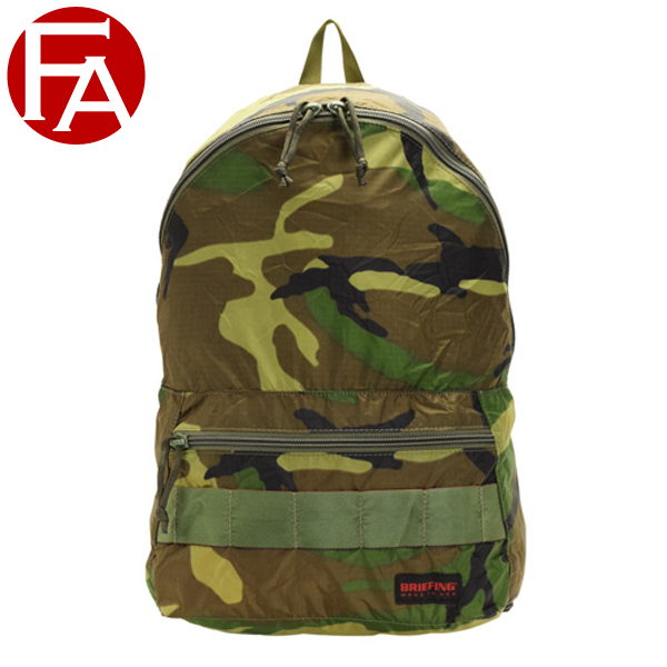 ブリーフィング BRIEFING バッグ リュックサック バックパック 折りたたみ カモフラージュ メンズ アウトレット brf265219-160-zz | バッグ かばん 鞄 通勤 旅行 A4 かわいい 可愛い オシャレ ブランド ナイロン