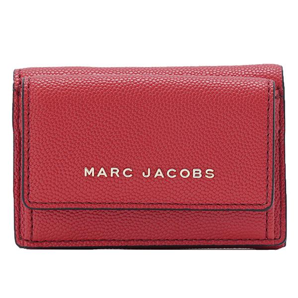 MARC JACOBS マークジェイコブス 新作続 三つ折り財布 アウトレット ミニ 舗 m0016994-622