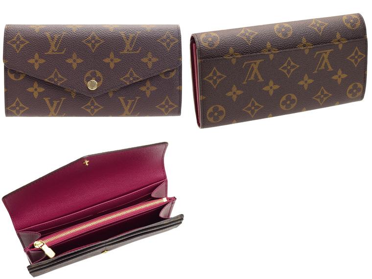 ルイヴィトン LOUIS VUITTON 二つ折り長財布 LV m62234   ウォレット サイフ さいふ 財布 ファスナー 小銭入れ カード入れ 多い レディース かわいい 可愛い 大人可愛い 使いやすい おしゃれ オシャレ ブランド