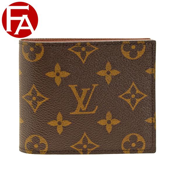 ルイヴィトン LOUIS VUITTON ショップ袋付き 二つ折り財布 LV メンズ m62288   ウォレット サイフ さいふ 財布 小銭入れ カード 収納 かっこいい おしゃれ オシャレ コンパクト 使いやすい ブランド ルイ ヴィトン ルイビトン