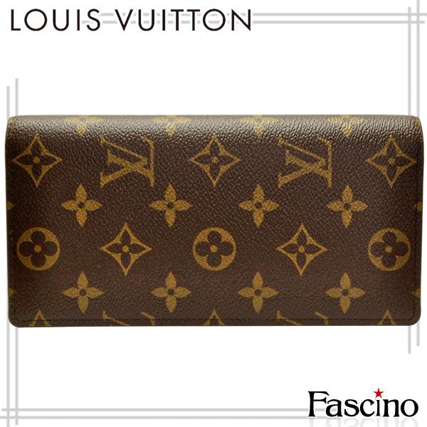 ルイヴィトン 財布 LOUIS VUITTON ショップ袋付き LV 二つ折り財布 「ポルトフォイユ・ブラザ」 モノグラム モノグラムキャンバス m66540 メンズ ルイ ヴィトン ルイビトン