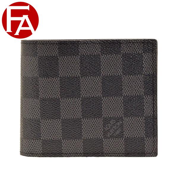 ルイヴィトン LOUIS VUITTON 二つ折り財布 LV メンズ n63336 | ウォレット サイフ さいふ 財布 小銭入れ カード 収納 かっこいい おしゃれ オシャレ コンパクト 使いやすい ブランド 春 令和 記念