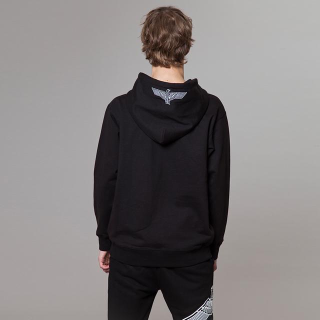 148fb8f69 ... BOY Eagle Printed on Pocket Hoodie - BLACK BG3HD033 men casual male men  fashion ...