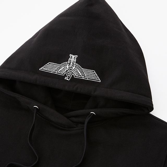 66eb42e6f fashionbeauty: BOY Eagle Printed on Pocket Hoodie - BLACK BG3HD033 ...