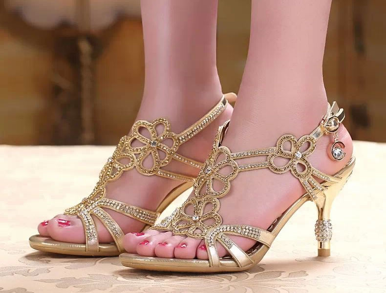 Total Product Size Exchange Free Women S Sandal Strap Heel Party New Wedding Reception Parties Dinner Presentation Of Invited Celebrity Legs