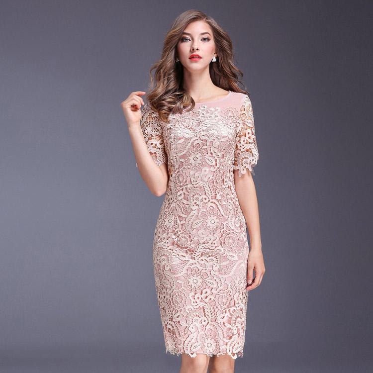 06b3e27215fd3 セレブファッション 高級 花柄刺繍 タイトワンピース 大人エレガント 着痩 大きいサイズあり