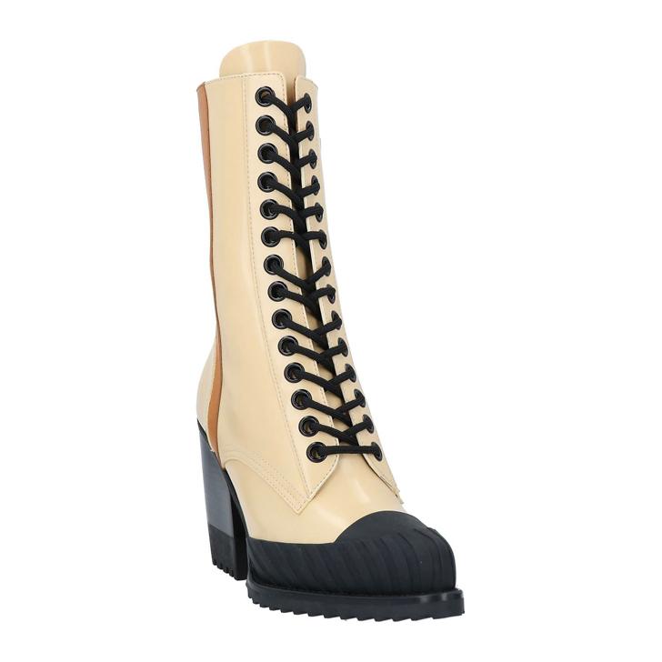 クロエ Chloe ブーツ レザー ベージュ 入手困難 レディース 靴 ロング 70A ショート 特価キャンペーン ミドル 07506 CHC18W