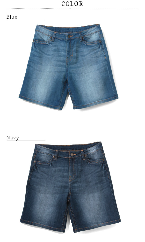 FashionLetter | Rakuten Global Market: Denim shorts Chopin half ...