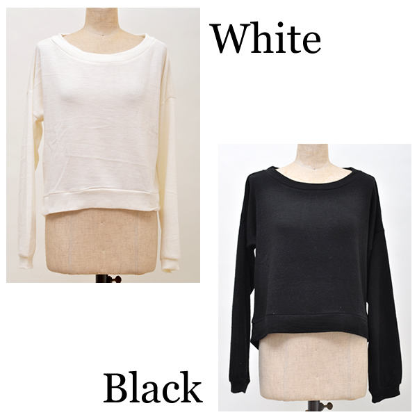 It is tops lady's arrival Shinnyu load Lady's Lady's 2016 spring and summer lower back Shin pull U neck knit so cut-and-sew round mail order layer dodo Le Mans knit roughly