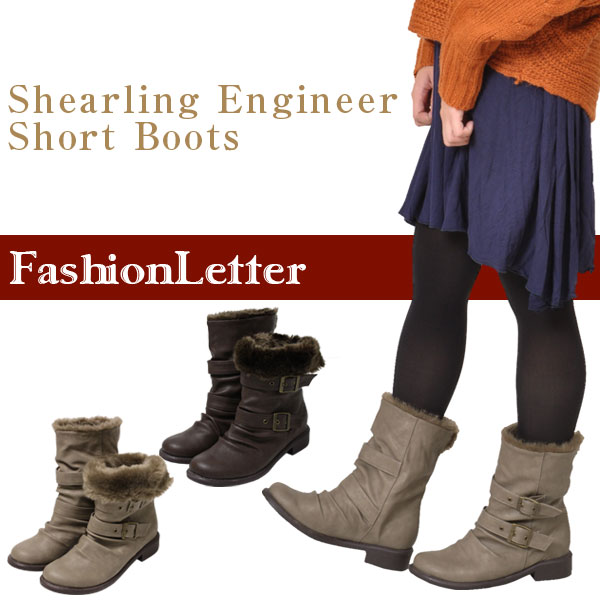 Sharing Engineer Boots boots Bootie Babyz Engineer Boots low heel winter boots furry boots women ladies snow legs 2016 spring summer
