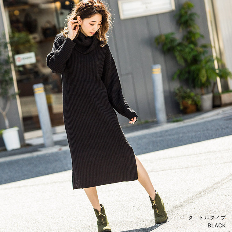 f4515abe1 FashionLetter  It is Korea fashion maxi long sleeve in knit dress ...