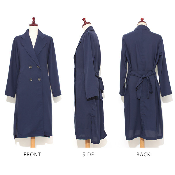 Trench coat gown ladies long spring coats teron Chi teron Chi coat light alter fall coat outerwear casual lotion MOM mother coat trench adults fall coat 2016 winter new