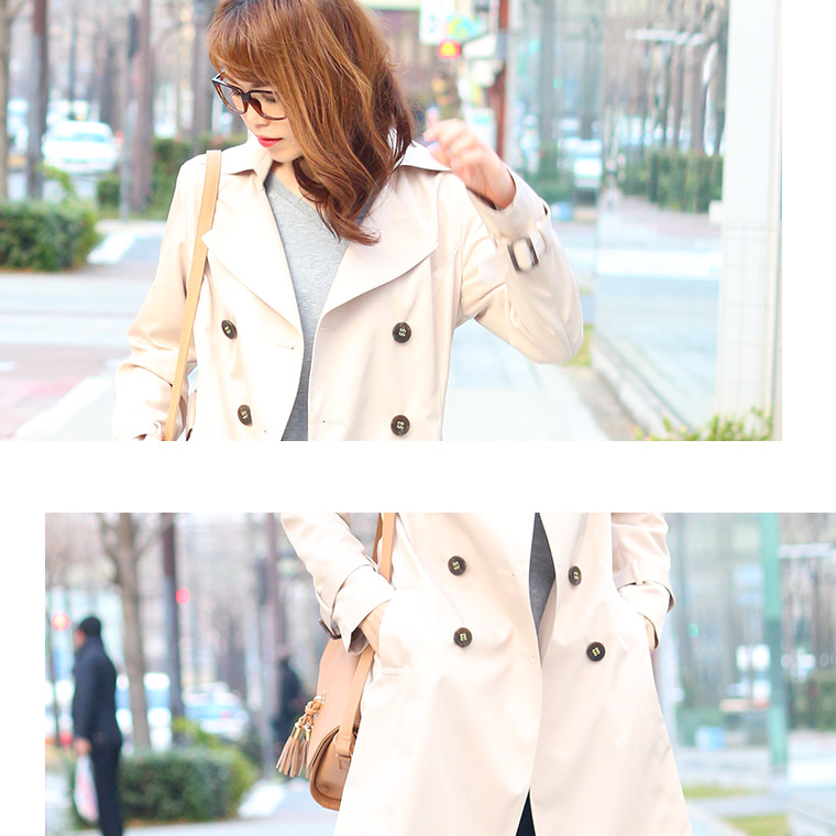 Coat outer coat ツイルト trench coat women's outerwear coat fall ジャケットト trench coat coat ladies women % sale half price sale 2013 aw 2013 fall winter.