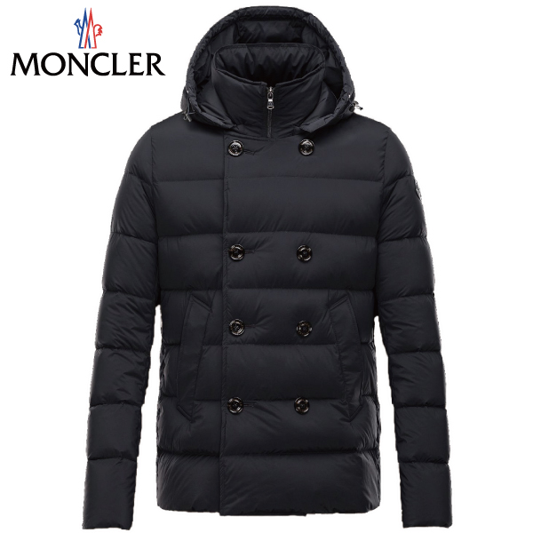 MONCLER MONCLER in 2015-2016, autumn winter new LOIRAC (Roark and Roy LAC) black men down the outer jacket.
