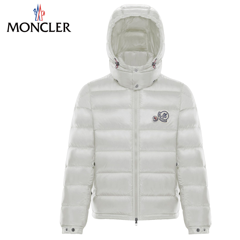 MONCLER モンクレール 2018-2019年秋冬新作 メンズ BRAMANT ブラマント ホワイト ダウンジャケット