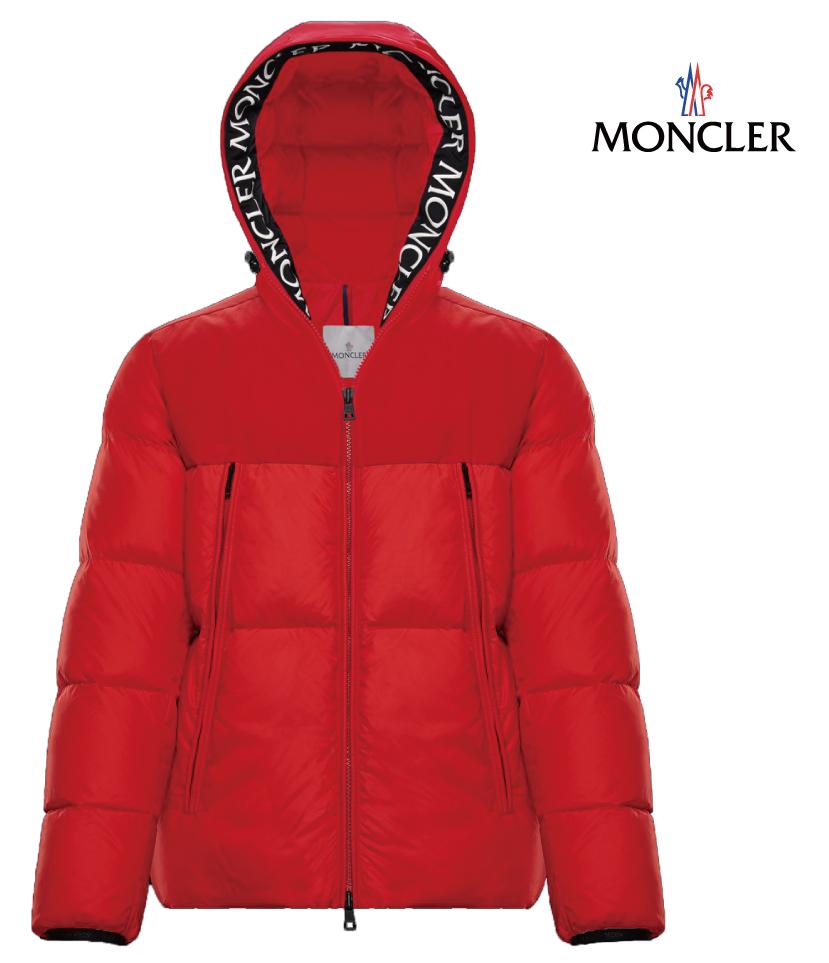 MONCLER モンクレール MONTCLAR アウター ダウンジャケット メンズ レッド 2018-2019年秋冬新作