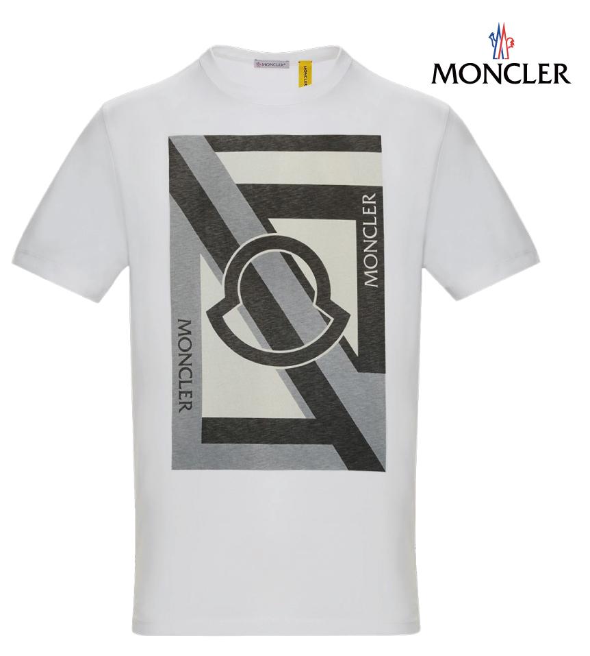 MONCLER モンクレール 5 Craig Green Genius コレクション Tシャツ グレー メンズ 2018-2019年秋冬