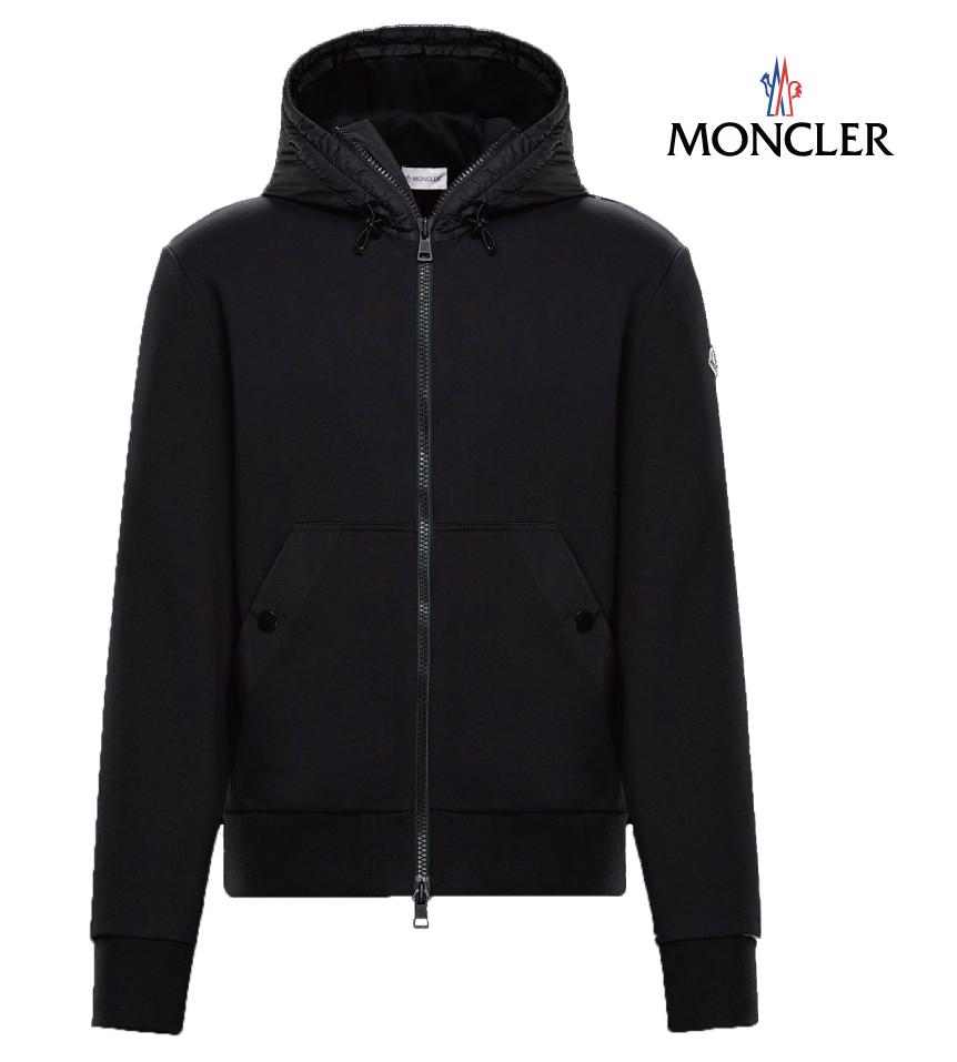 MONCLER モンクレール SWEAT SHIRTスウェット パーカー メンズ ブラック 2018-2019年秋冬