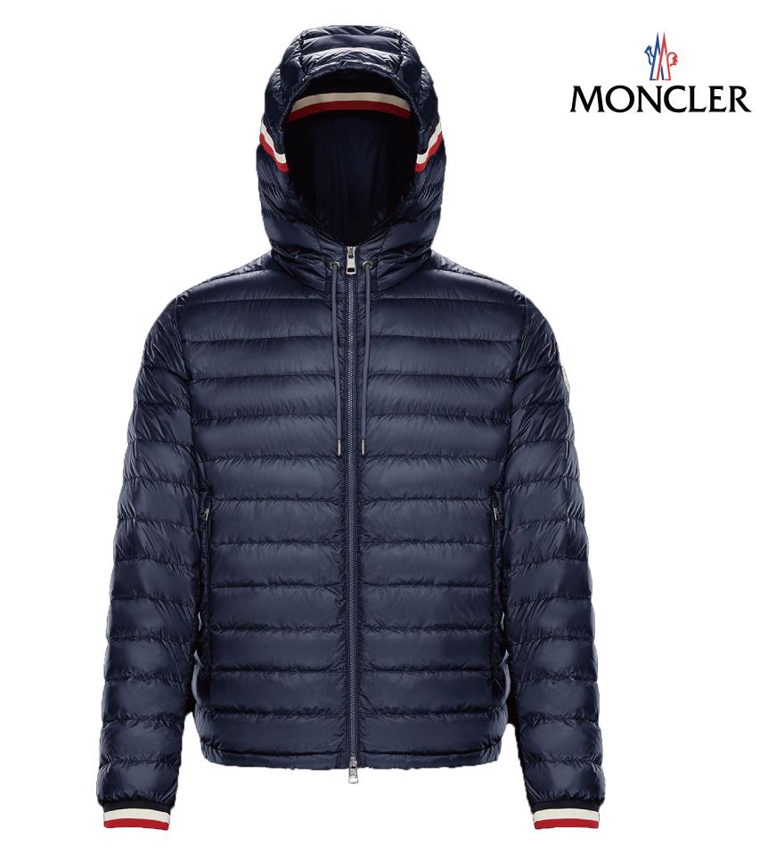 MONCLER モンクレール GIROUX メンズ ダークブルー ネイビー ジャケット ダウン 2019年春夏 最安値,新品