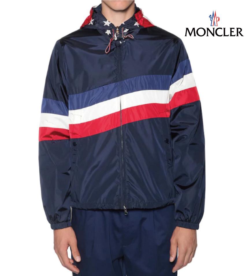 MONCLER モンクレール MONTREAL CAM テックナイロン カジュアルジャケット メンズ ネイビー ブルー ジャケット 2019年春夏