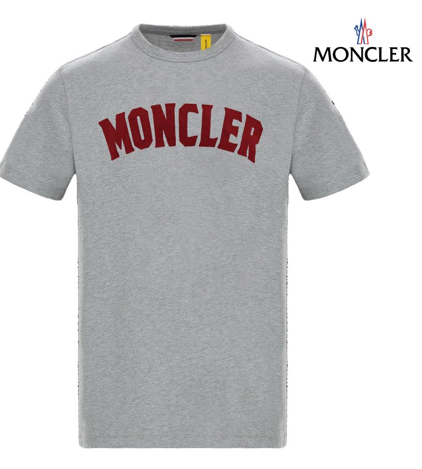 MONCLER モンクレール 2 MONCLER 1952 T-SHIRT Tシャツ グレー メンズ 2019年春夏