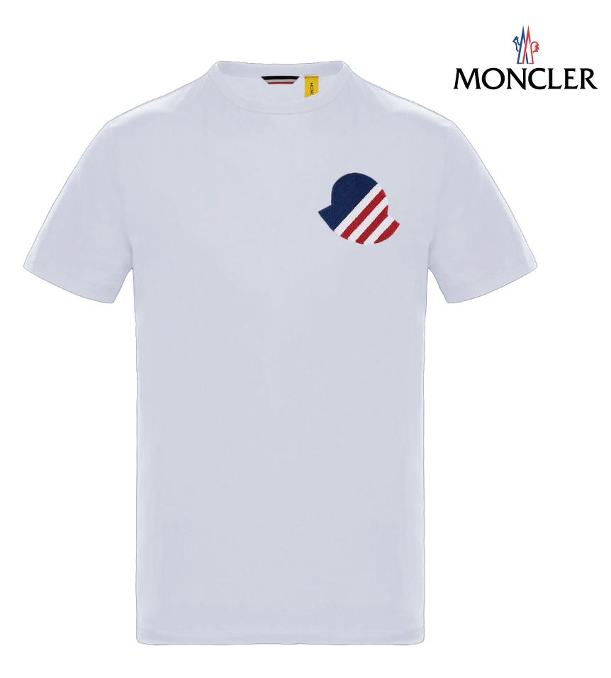 MONCLER モンクレール 2 MONCLER 1952 T-SHIRT Tシャツ ホワイト メンズ 2019年春夏