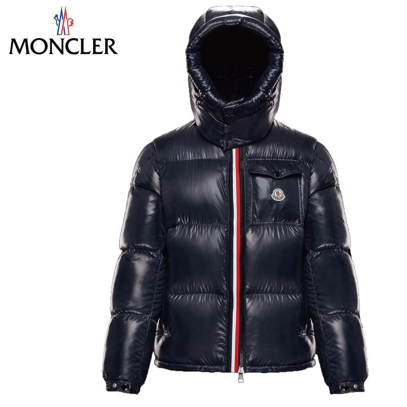 贈呈 プレミアダウンの老舗ブランド MONCLER モンクレール 1年保証 MONTBELIARD ダウンジャケット ダークブルー メンズ Dark 2019-2020年秋冬 Blue