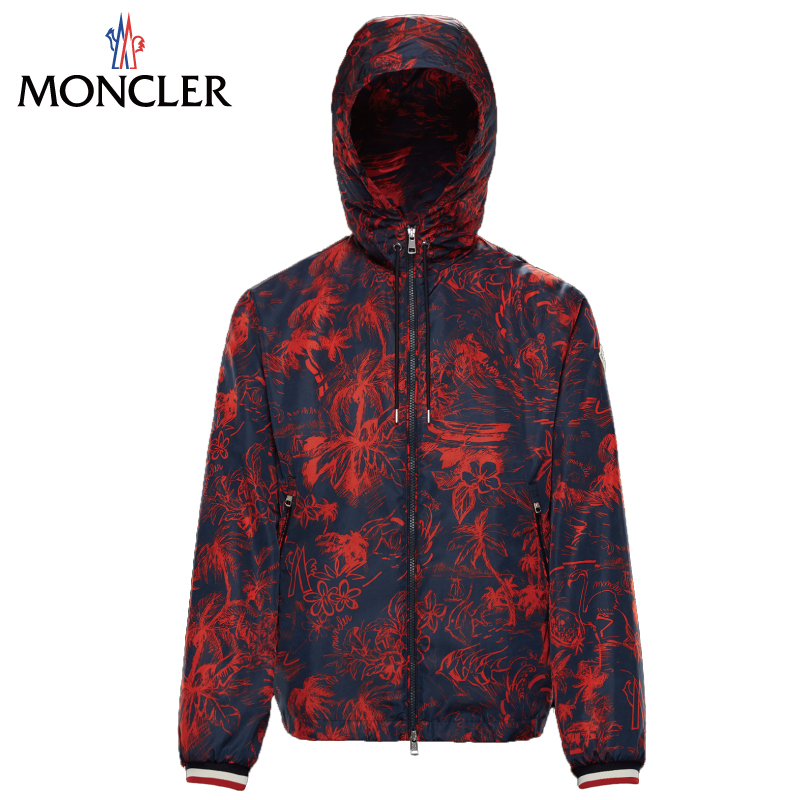 Moncler Monk Rail Fraser Jacket Men Dark Blue Dark Blue Spring Of 2019 Summer