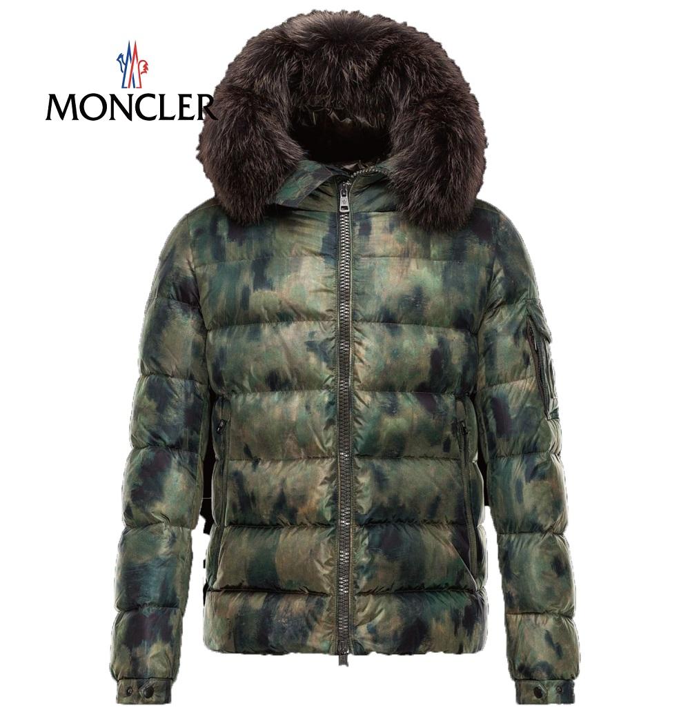 MONCLER MONCLER Byron (Byron) military green 2014-2015, autumn winter new