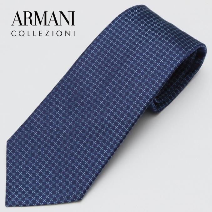 ARMANI COLLEZIONI アルマーニ・コレツィオーニ 2017年春夏GA17S-7P323-00135 ネクタイ シルク イタリア タイ スーツ ビジネス