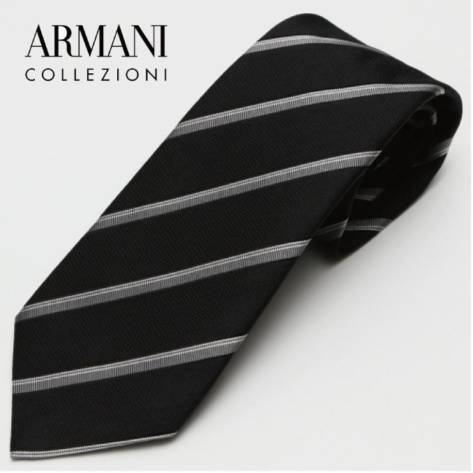 ARMANI COLLEZIONI アルマーニ・コレツィオーニ 2017年春夏GA17S-7P336-00020 ネクタイ シルク イタリア タイ スーツ ビジネス