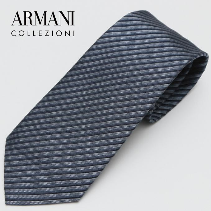 ARMANI COLLEZIONI アルマーニ・コレツィオーニ 2017年春夏GA17S-7P338-00134 ネクタイ シルク イタリア タイ スーツ ビジネス