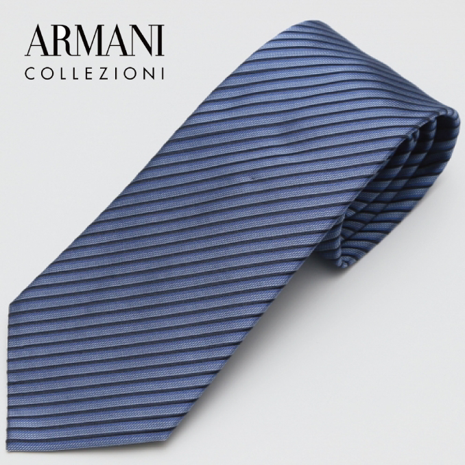 ARMANI COLLEZIONI アルマーニ・コレツィオーニ 2017年春夏GA17S-7P338-10233 ネクタイ シルク イタリア タイ スーツ ビジネス