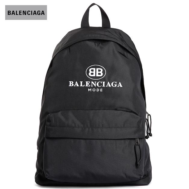 BALENCIAGA バレンシアガ 2018年春夏 EXPLORER MODE BACKPACK BLACK