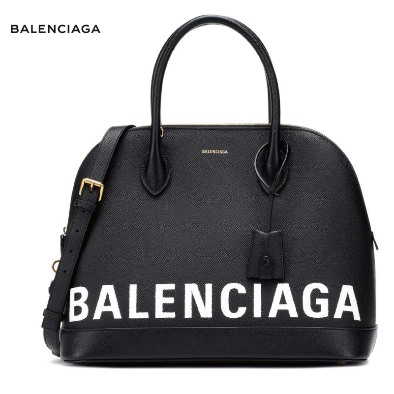 BALENCIAGA バレンシアガ Ville M leather tote バッグ ブラック 2018-2019年秋冬